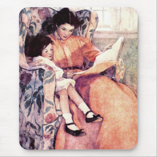 Mother's Day Vintage Art Gift Mousepads