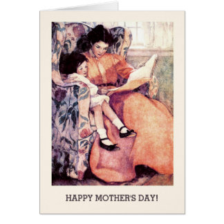 Mother's Day Vintage Design Customizable Cards