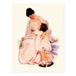 Mother's Day Vintage Style Customisable Postcards