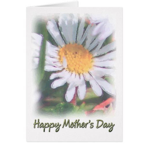 Mother's Day - Watercolour Daisy Greeting Cards