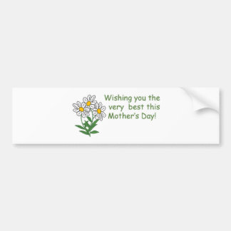 Mothers Day Wish Bumper Sticker