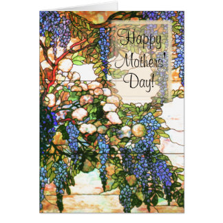 Mothers' Day Wisteria Card