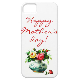 Mother's Day with Flowers iPhone 5 Cases