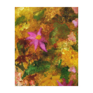 Mother's Garden Gallery Wrapped Canvas