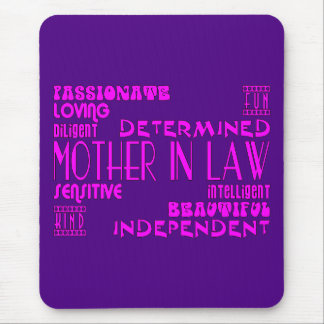 Mothers in Law Birthdays & Weddings : Qualities Mouse Mat