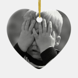 Mother's Little Boy. Christmas Ornament