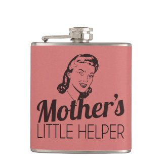 Mother's Little Helper Hip Flask