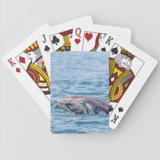 Mother's Love Dolphin & Baby Playing Cards
