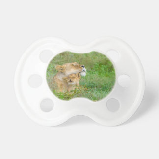 Mother's Love Lioness & Baby Pacifier