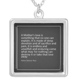 Mother's Love Mother's Day Necklace