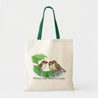 Mother's Love Needs no Words, Sparrow Birds