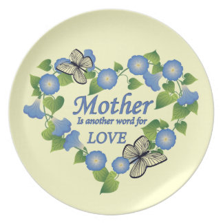 Mother's Love Plate