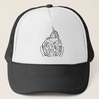 Mothers milk droplet trucker hat