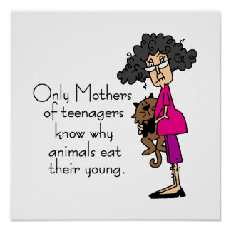 Mothers of Teenagers Print
