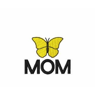Mothers Yellow Butterfly Embroidered Shirt