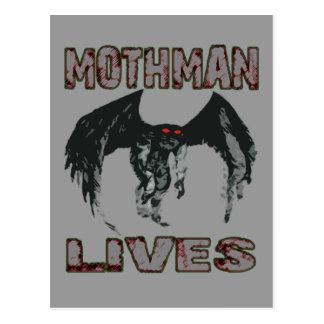 MOTHMAN LIVES POSTCARD