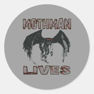 MOTHMAN LIVES STICKER