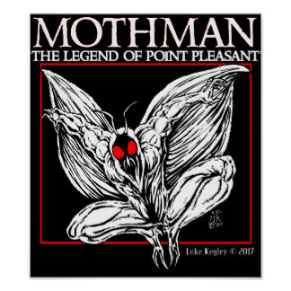 Mothman The Legend Of Point Pleasant Poster