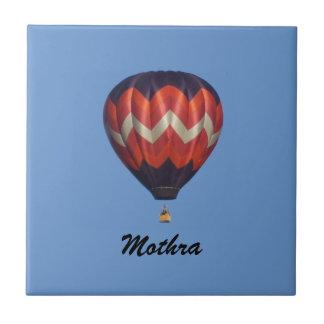 Mothra Hot Air Balloon Tile with Name