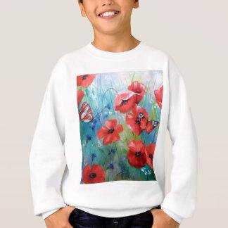 moths and butterflies sweatshirt
