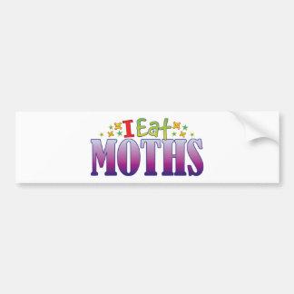Moths I Eat Bumper Sticker
