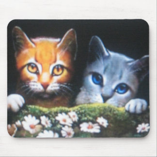 Mothwing and Willowpaw mousepade Mouse Mat