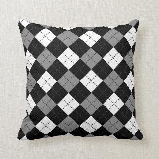 motif figures losanges patterns throw cushion