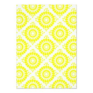 """motif géométrique 5"""" x 7"""" invitation card"""