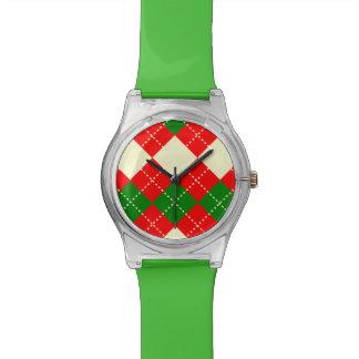motif losange  patterns wristwatches