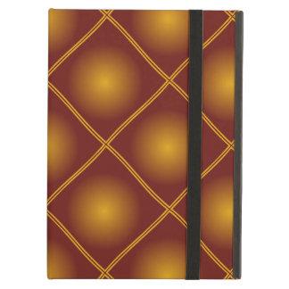 motif pattern couleur automnale marron case for iPad air