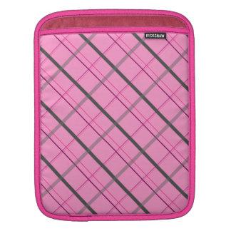 motif pattern lignes géométriques iPad sleeve