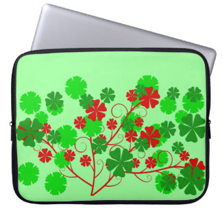 motif patterns floral laptop sleeve