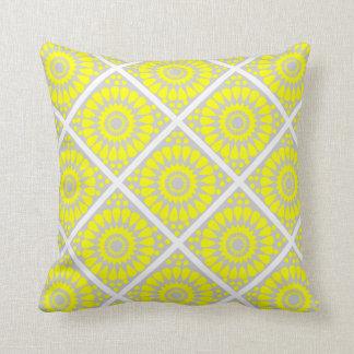 motif patterns géométriques throw cushion