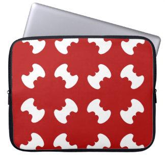 motifs patterns géométriques laptop computer sleeve