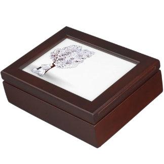 Motion and Tufty Relax Keepsake Box