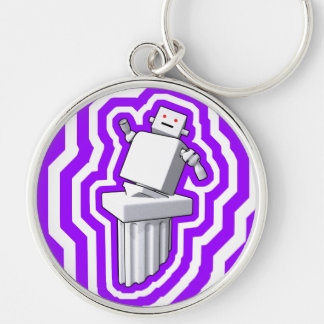 Motion D art Keychain Large Round