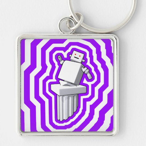 Motion D'art Keychain (Large Square)