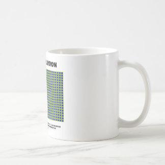 Motion Illusion (Optical Illusion) Coffee Mug
