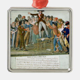 Motion in the Garden of the Palais-Royal Christmas Ornament