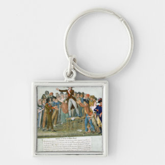 Motion in the Garden of the Palais-Royal Key Ring