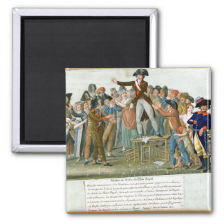 Motion in the Garden of the Palais-Royal Square Magnet