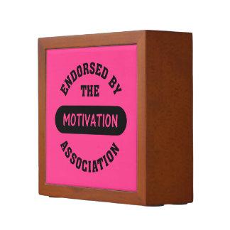 Motivation Association Endorsement Desk Organiser