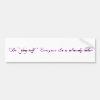 Motivation Bumper Sticker