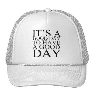 Motivation Cap Mesh Hat