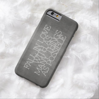 Motivation, inspiration, words of wisdom. quotes barely there iPhone 6 case