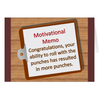 Motivation Note Card