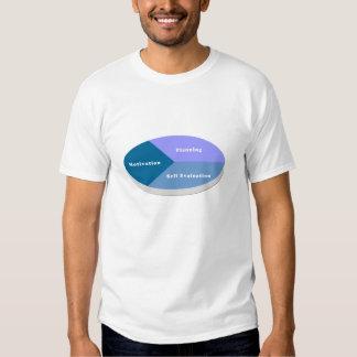 Motivation, Planning, Self Evaluation Tee Shirts