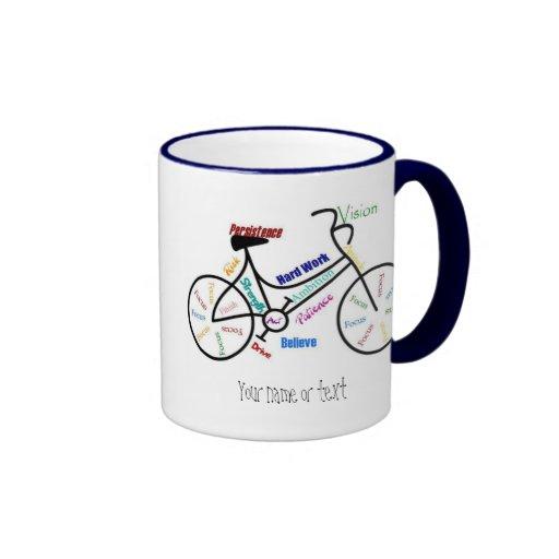Motivational Bike, Bicycle, Cycling, Sport, Hobby Coffee Mug