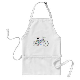 Motivational Bike, Bicycle, Cycling, Sport, Hobby Standard Apron