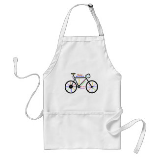Motivational Bike, Cycle, Biking, Sport Words Standard Apron